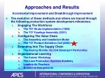 approaches and results incremental improvement and breakthrough improvement46