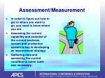 assessment measurement