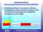 implementation planning systems improvement hybrid mrp erp22