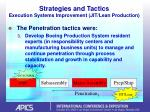 strategies and tactics execution systems improvement jit lean production27