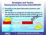strategies and tactics planning systems improvement hybrid mrp erp15