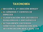 taxonom a