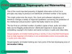 chapter 1 3 steganography and watermarking