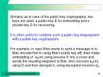 publlic key steganography