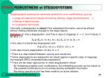 robustness of stegosystems