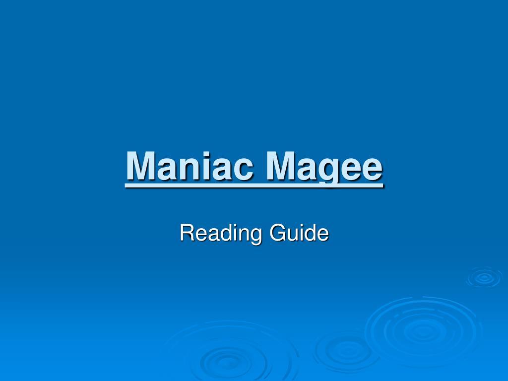 maniac magee l.