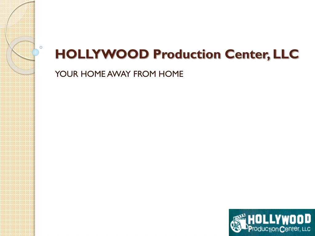 hollywood production center llc l.