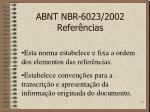abnt nbr 6023 2002 refer ncias2