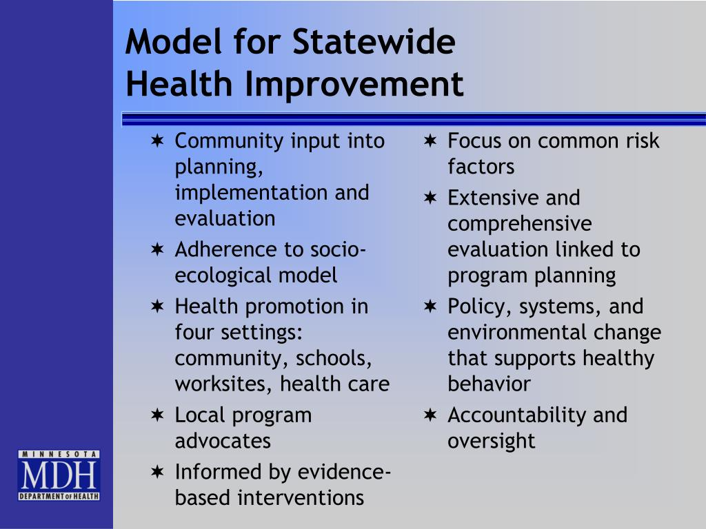 Model for Statewide