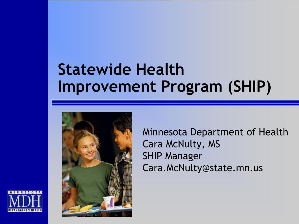 statewide health improvement program ship l.