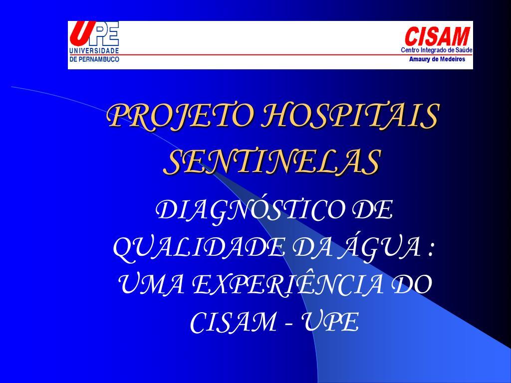 projeto hospitais sentinelas l.