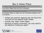 box 2 action plans25