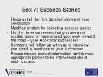 box 7 success stories14