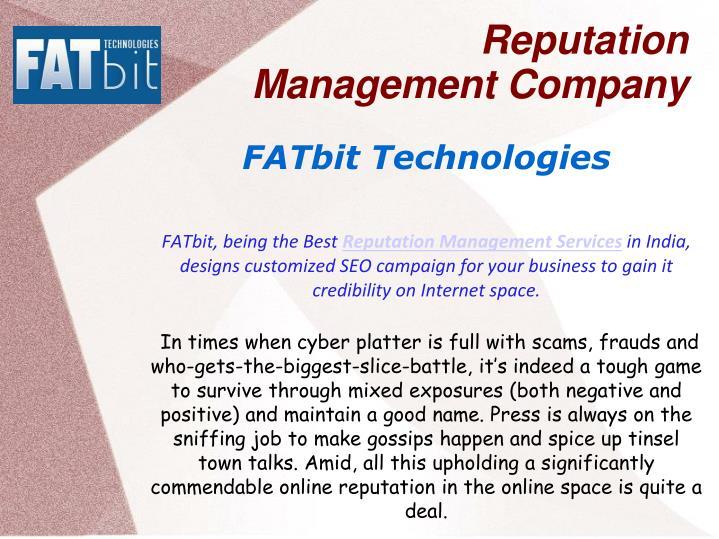 Reputation management company3
