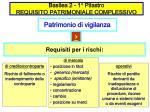 basilea 2 1 pilastro requisito patrimoniale complessivo