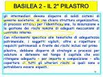basilea 2 il 2 pilastro