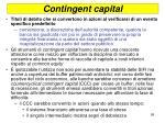 contingent capital