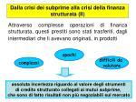 dalla crisi dei subprime alla crisi della finanza strutturata ii