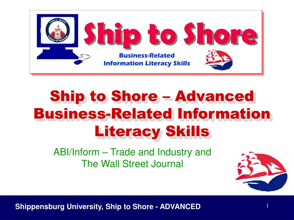 abi inform trade and industry and the wall street journal l.