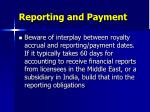 reporting and payment27