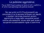 la pulsione aggressiva