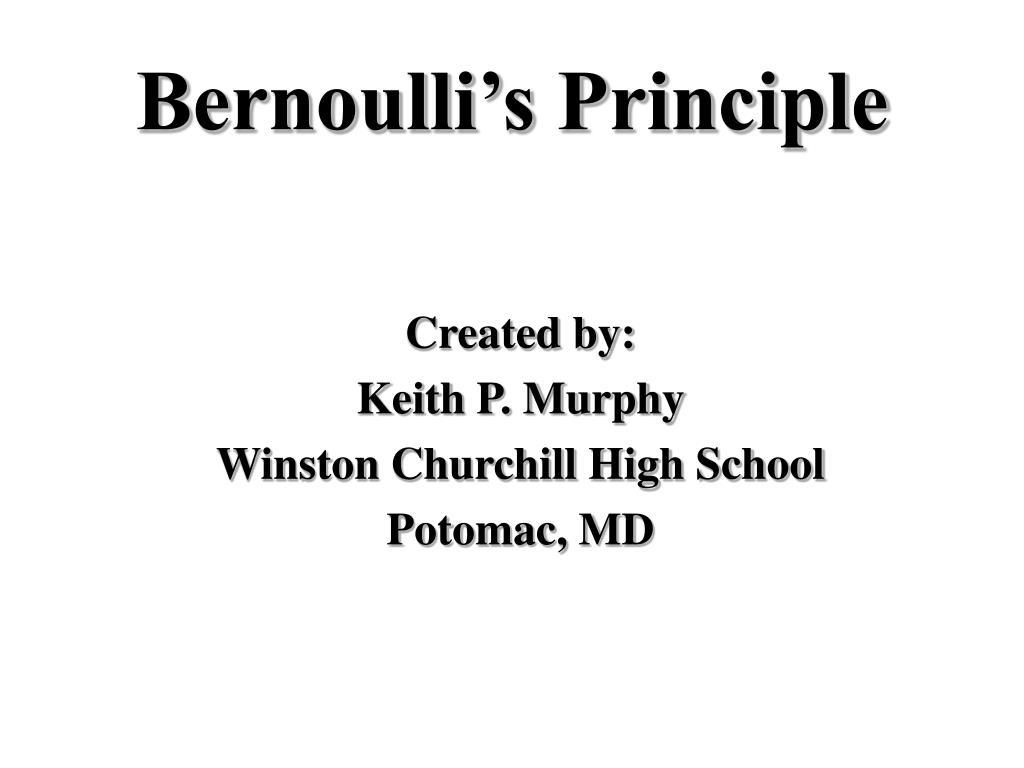 bernoulli s principle l.