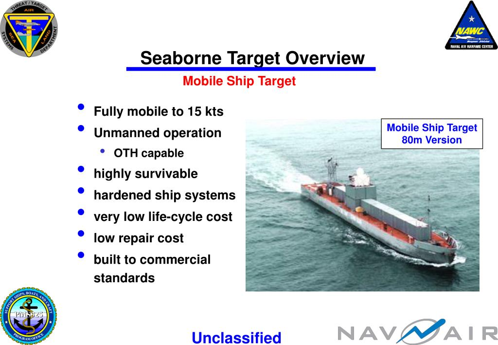 Seaborne Target Overview