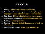 le coma23