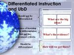 differentiated instruction and ubd
