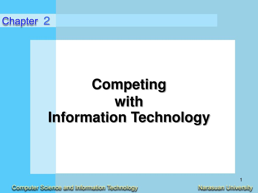 competing with information technology l.