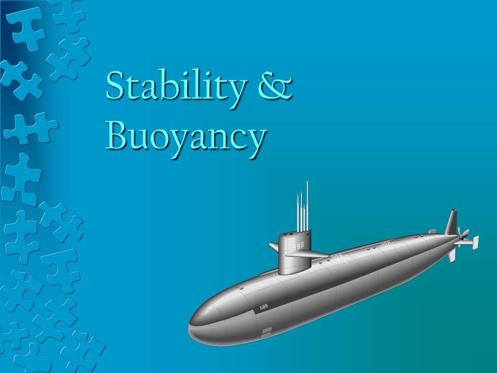 stability buoyancy l.