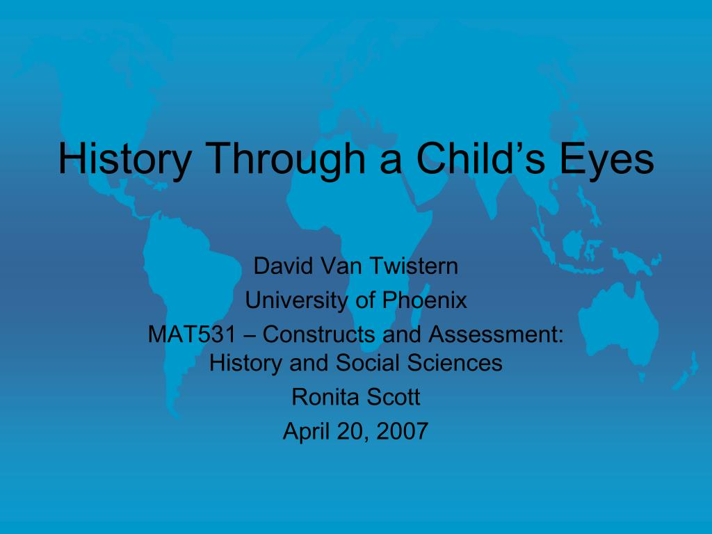 history through a child s eyes l.
