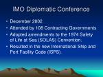 imo diplomatic conference