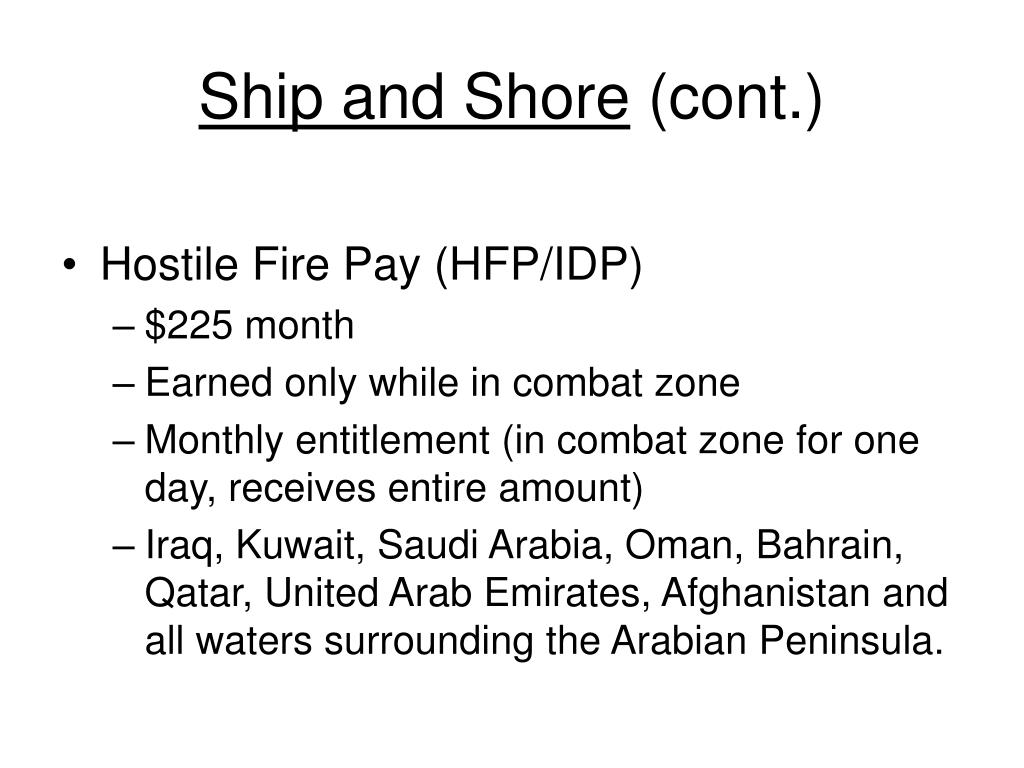 Ship and Shore