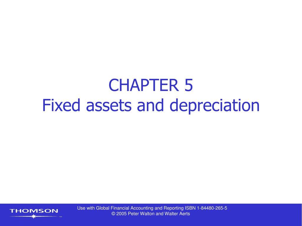 introduction of depreciation