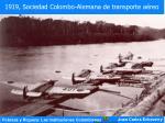 1919 sociedad colombo alemana de transporte a reo