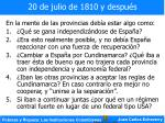 20 de julio de 1810 y despu s5