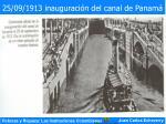 25 09 1913 inauguraci n del canal de panam