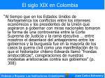 el siglo xix en colombia