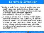 la primera constituci n11
