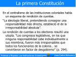 la primera constituci n12