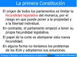 la primera constituci n13