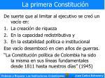 la primera constituci n15