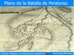 plano de la batalla de peralonso