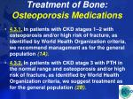treatment of bone osteoporosis medications