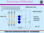 transformer differential