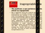 inapropriabilidade
