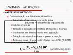 enzimas aplica es11