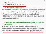 enzimas enzimas regulat rias1