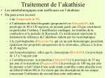 traitement de l akathisie